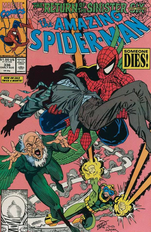 AMAZING SPIDER MAN #336 VERY FINE RETURN OF THE SINISTER ...