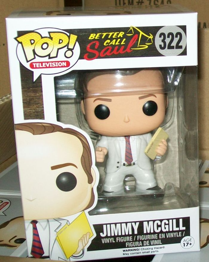 Funko Pop Television Better Call Saul Jimmy Mcgill 322