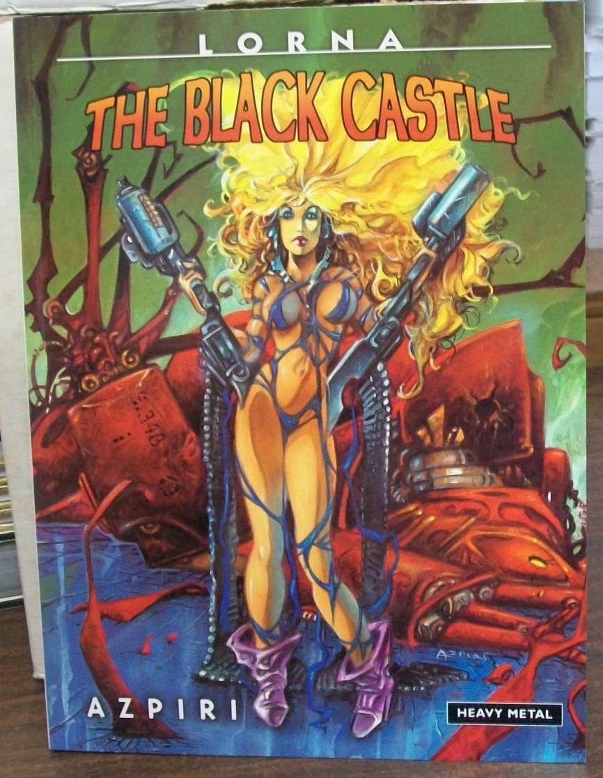 heavy metal lorna the black castle tpb softcover skgn137. Black Bedroom Furniture Sets. Home Design Ideas